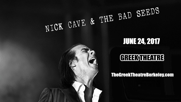 Nick Cave And The Bad Seeds at Greek Theatre Berkeley