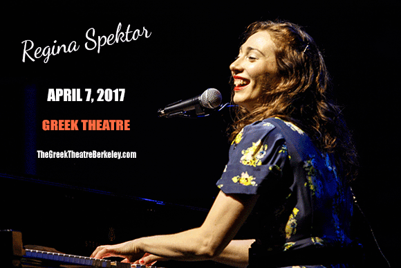 Regina Spektor at Greek Theatre Berkeley