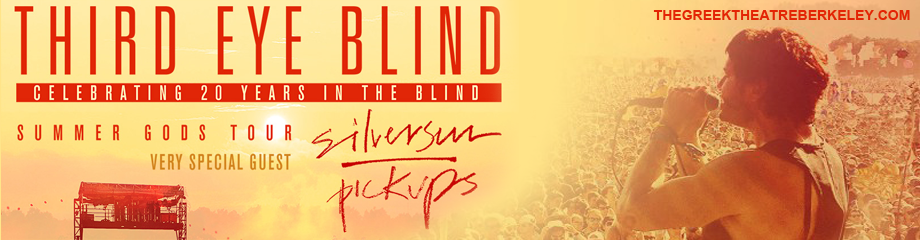 Third Eye Blind & Silversun Pickups at Greek Theatre Berkeley