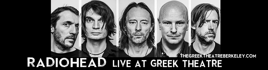 Radiohead at Greek Theatre Berkeley