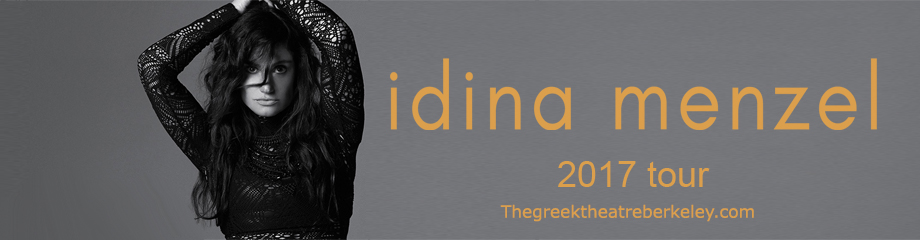 Idina Menzel at Greek Theatre Berkeley