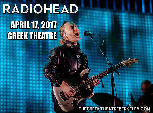 Radiohead at Greek Theatre Berkeley