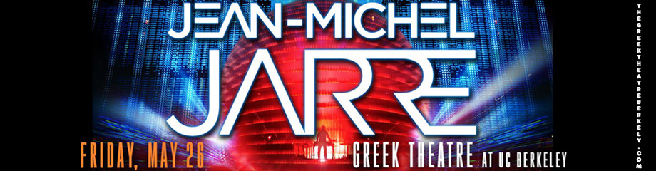 Jean-Michel Jarre at Greek Theatre Berkeley