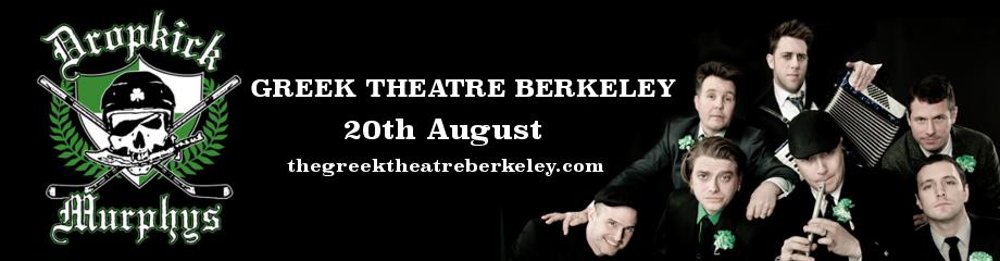 Dropkick Murphys & Rancid at Greek Theatre Berkeley