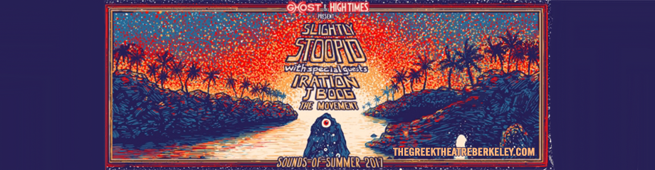 Slightly Stoopid, Iration & J Boog at Greek Theatre Berkeley