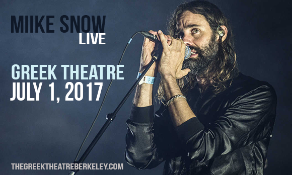 Miike Snow at Greek Theatre Berkeley