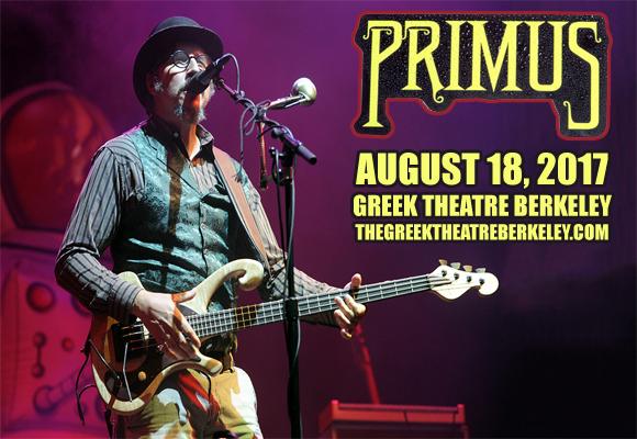 Primus & Clutch at Greek Theatre Berkeley