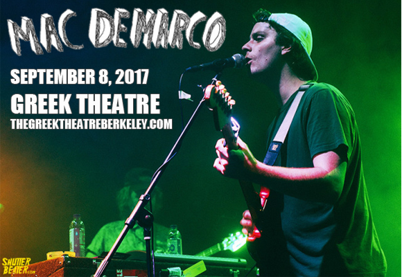 Mac DeMarco at Greek Theatre Berkeley
