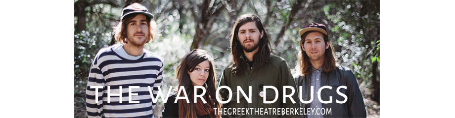 The War On Drugs at Greek Theatre Berkeley