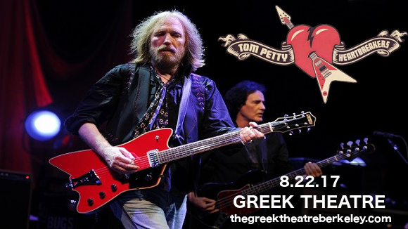 Tom Petty and The Heartbreakers at Greek Theatre Berkeley