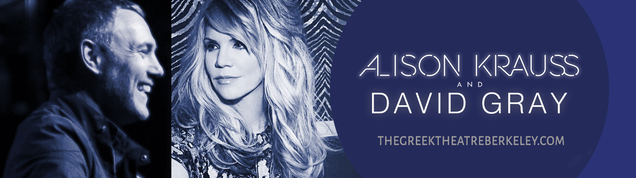 Alison Krauss & David Gray at Greek Theatre Berkeley