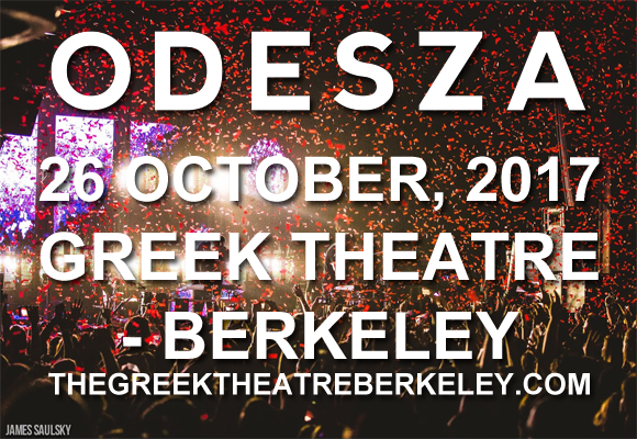 Odesza at Greek Theatre Berkeley