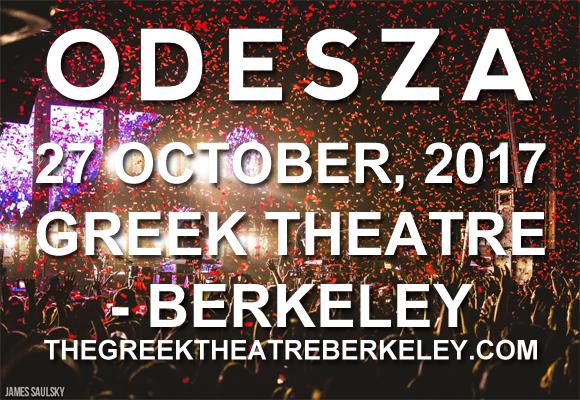 Odesza at Greek Theatre Berkeley