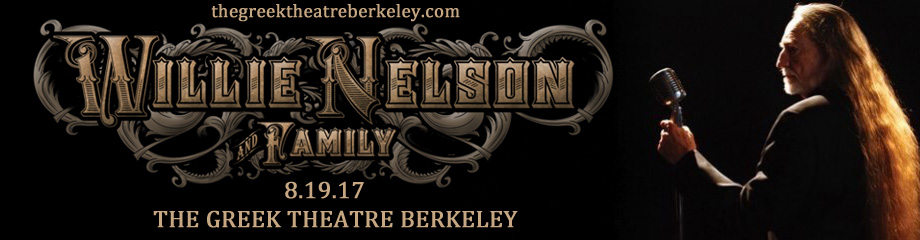 Willie Nelson & Kacey Musgraves at Greek Theatre Berkeley
