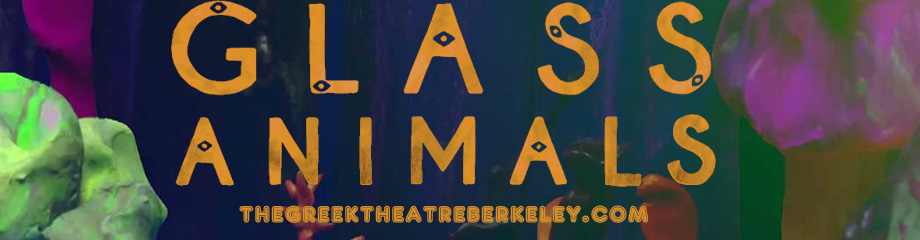 Glass Animals at Greek Theatre Berkeley
