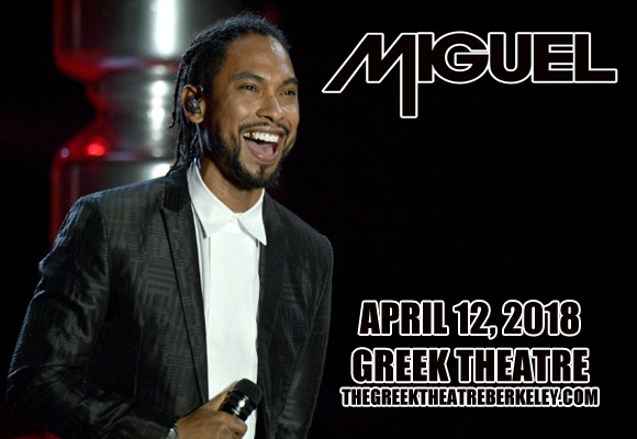 Miguel at Greek Theatre Berkeley