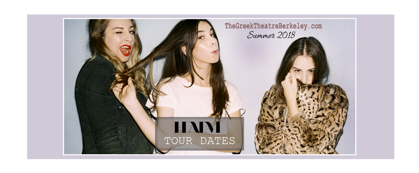 Haim at Greek Theatre Berkeley