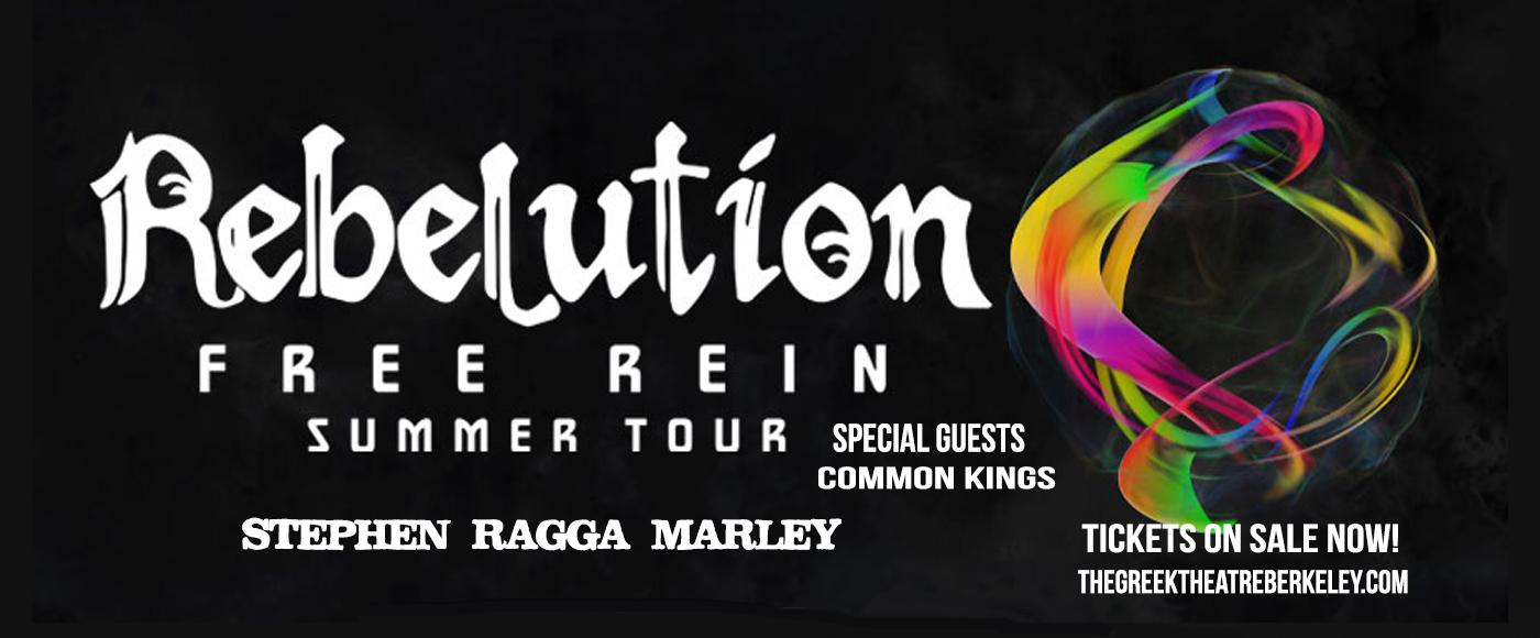 Rebelution, Stephen Marley & Common Kings at Greek Theatre Berkeley