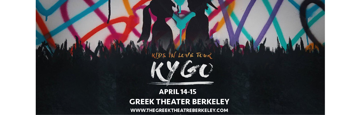 Kygo at Greek Theatre Berkeley