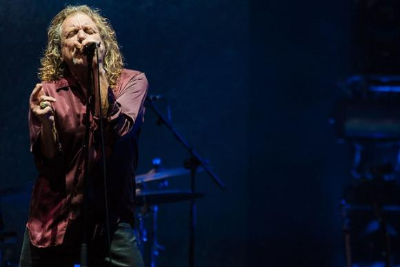 Robert Plant & Jim James at Greek Theatre Berkeley
