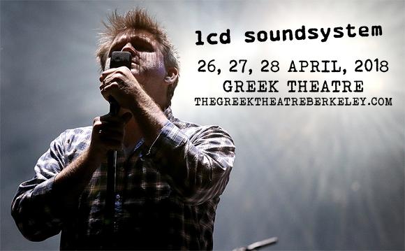 LCD Soundsystem at Greek Theatre Berkeley