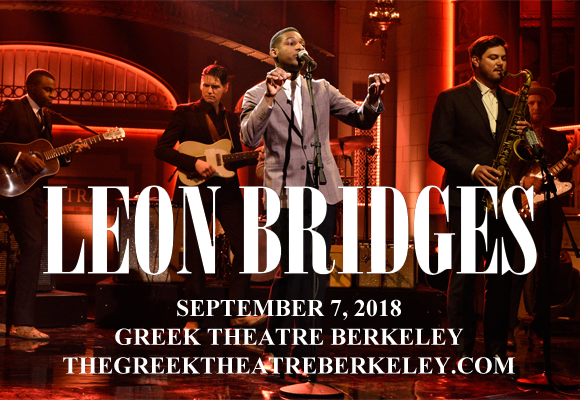 Leon Bridges at Greek Theatre Berkeley