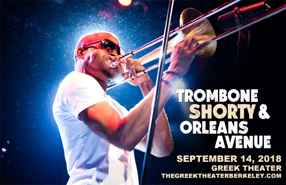 Trombone Shorty and Orleans Avenue at Greek Theatre Berkeley