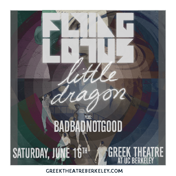 Flying Lotus & Little Dragon at Greek Theatre Berkeley