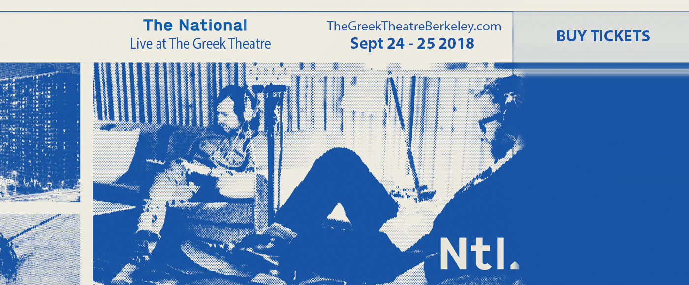 The National at Greek Theatre Berkeley