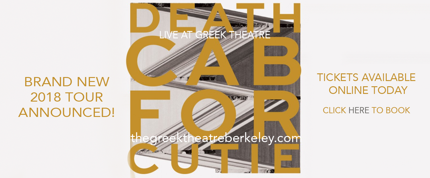 Death Cab For Cutie at Greek Theatre Berkeley