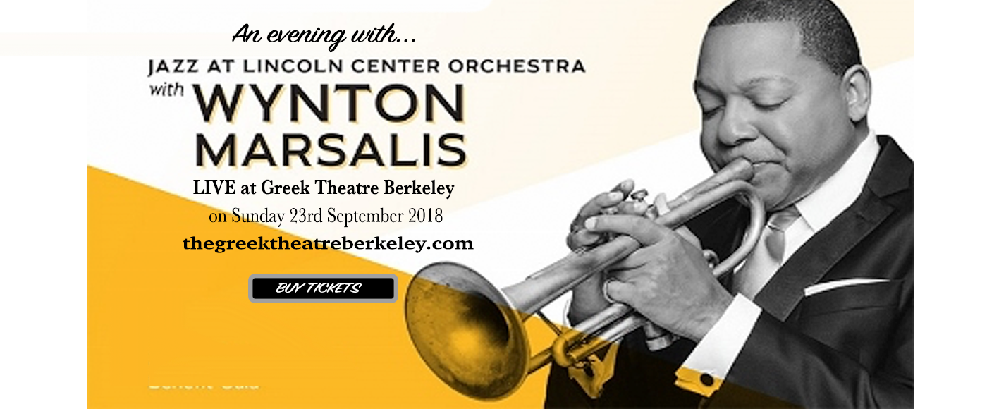 Jazz at Lincoln Center Orchestra: Wynton Marsalis at Greek Theatre Berkeley