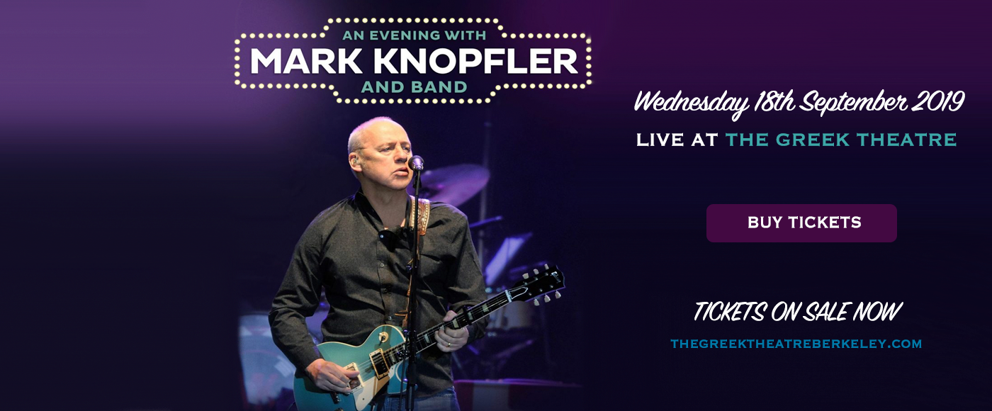 Mark Knopfler at Greek Theatre Berkeley