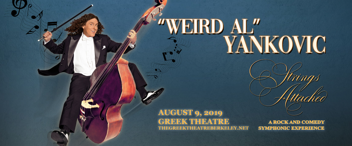 Weird Al Yankovic at Greek Theatre Berkeley