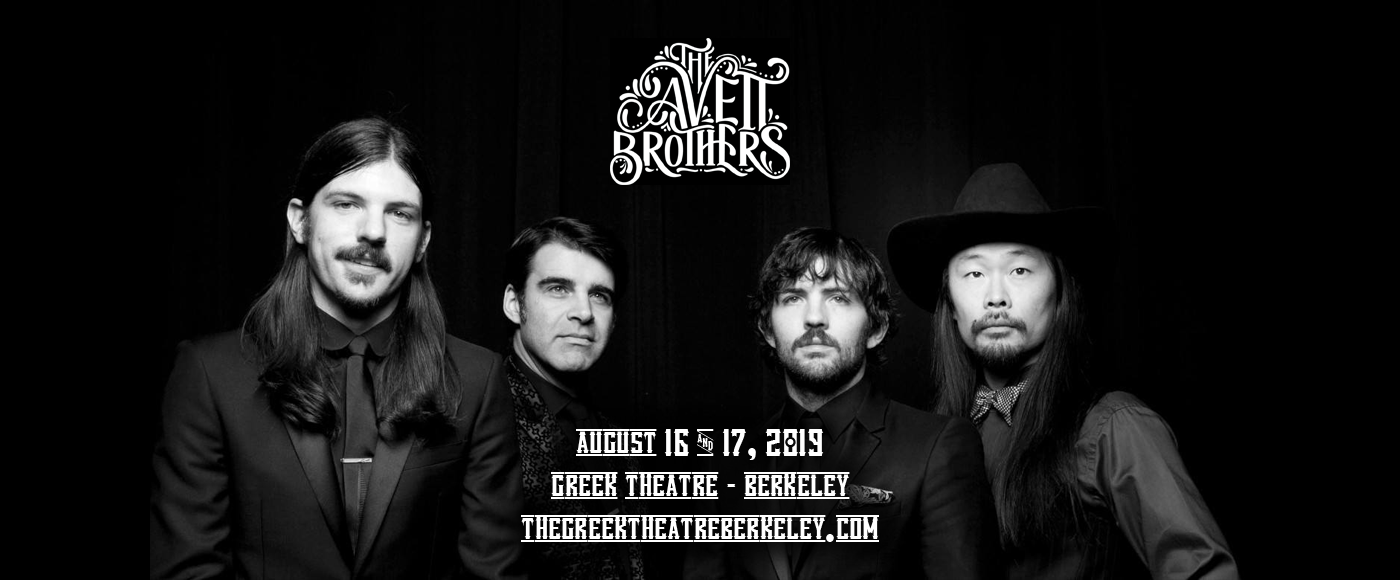 The Avett Brothers at Greek Theatre Berkeley