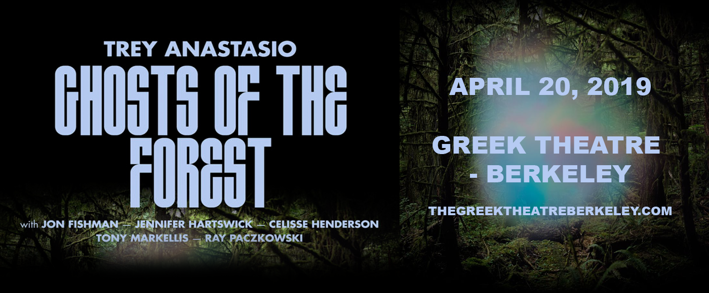Ghosts of the Forest: Trey Anastasio Tickets | 20th April ...
