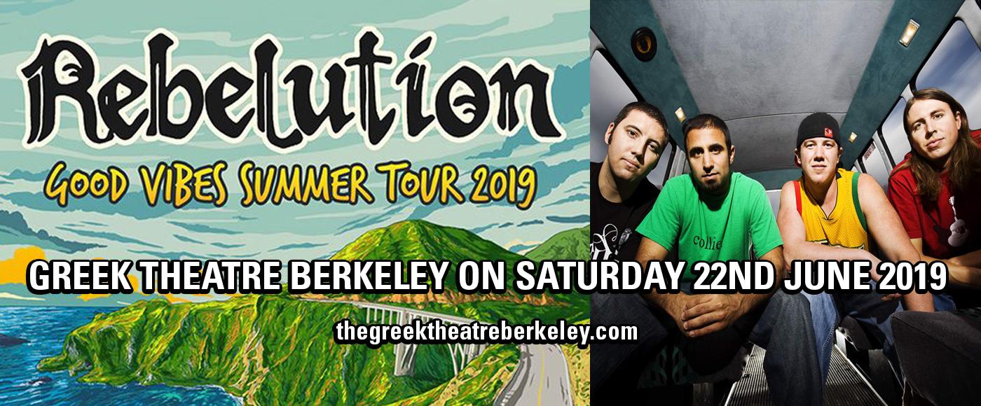 Rebelution at Greek Theatre Berkeley