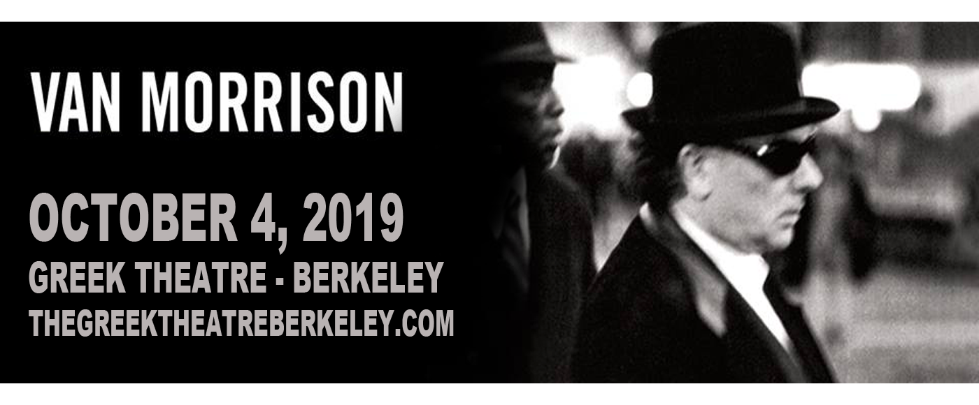 Van Morrison at Greek Theatre Berkeley