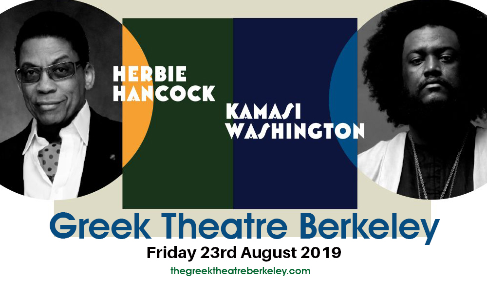 Herbie Hancock & Kamasi Washington at Greek Theatre Berkeley