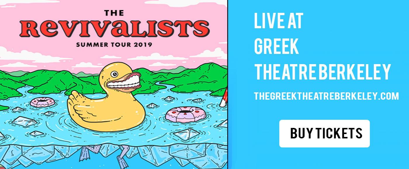 The Revivalists at Greek Theatre Berkeley