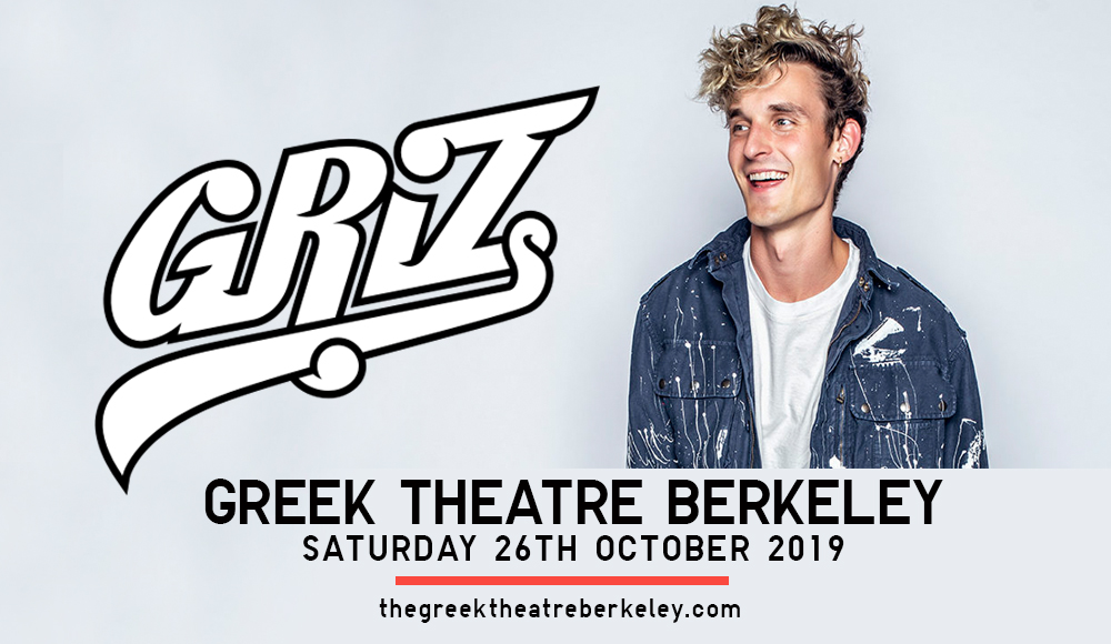 GRiZ at Greek Theatre Berkeley