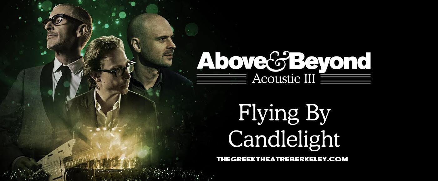 Above & Beyond - Acoustic [POSTPONED] at Greek Theatre Berkeley