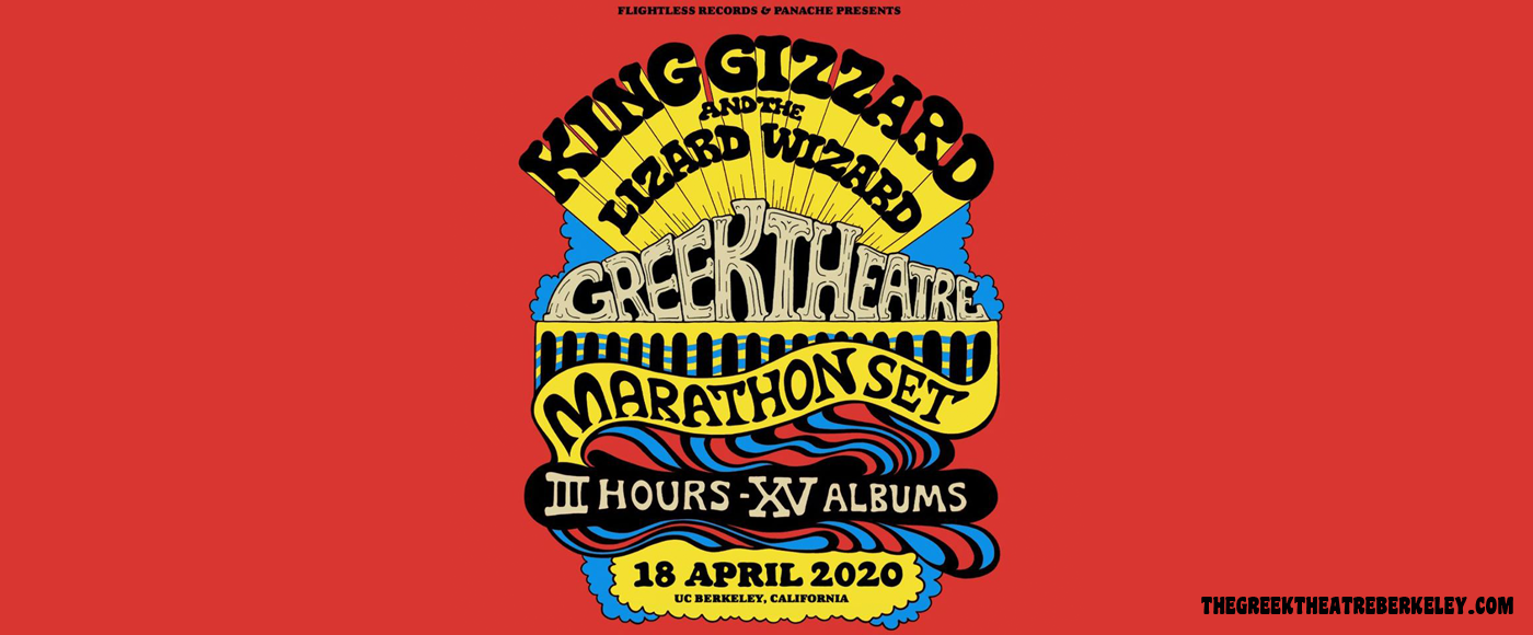 King Gizzard and The Lizard Wizard at Greek Theatre Berkeley