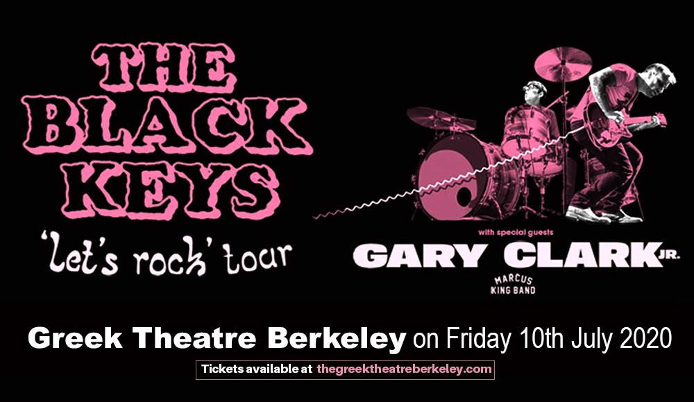 The Black Keys [CANCELLED] at Greek Theatre Berkeley