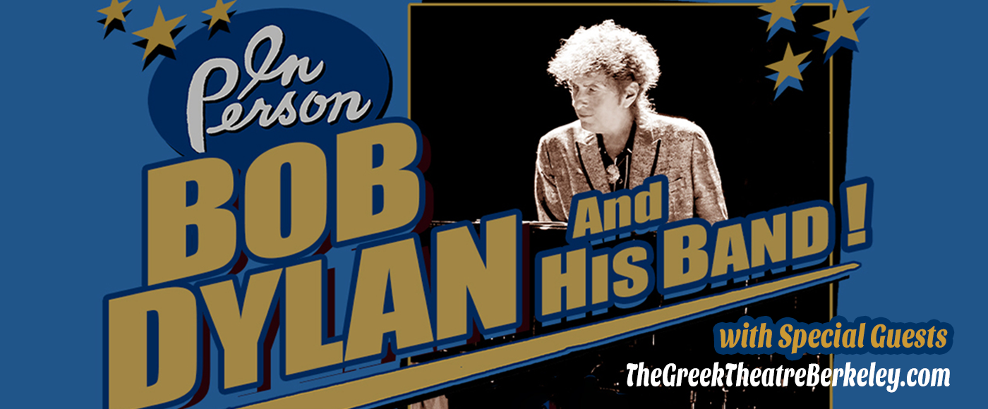 Bob Dylan, Nathaniel Rateliff and The Night Sweats & The Hot Club of Cowtown [CANCELLED] at Greek Theatre Berkeley