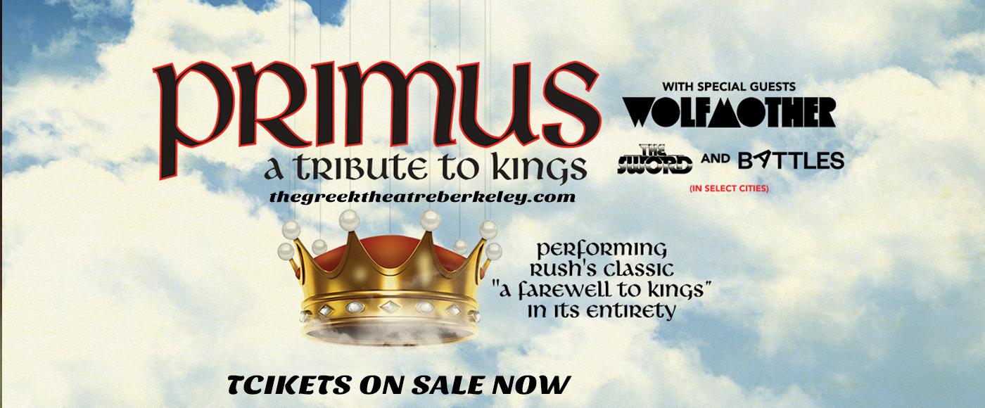Primus [POSTPONED] at Greek Theatre Berkeley