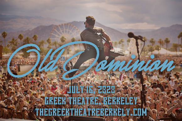 Old Dominion & Carly Pearce [CANCELLED] at Greek Theatre Berkeley