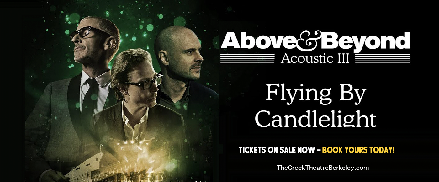 Above & Beyond [CANCELLED] at Greek Theatre Berkeley
