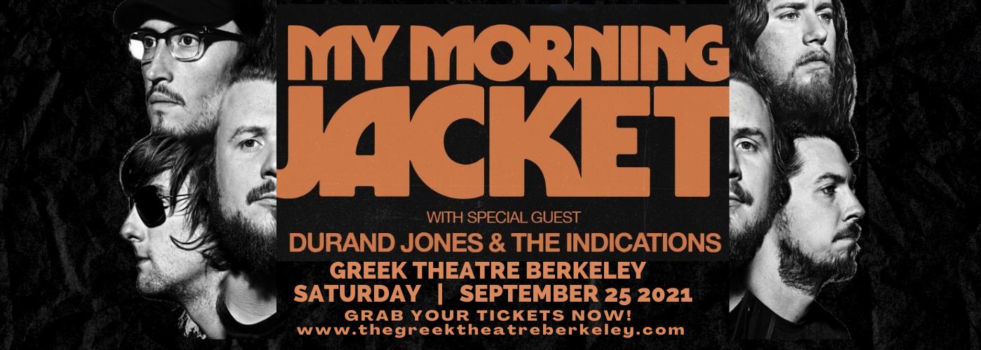 My Morning Jacket at Greek Theatre Berkeley