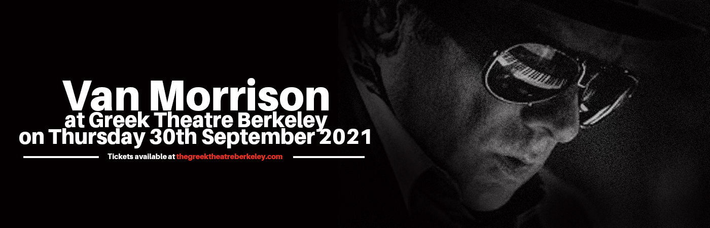 Van Morrison at Greek Theatre Berkeley