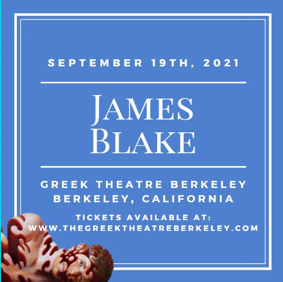 James Blake at Greek Theatre Berkeley